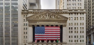 New York Stock Exchange (NYSE) Portal during the day