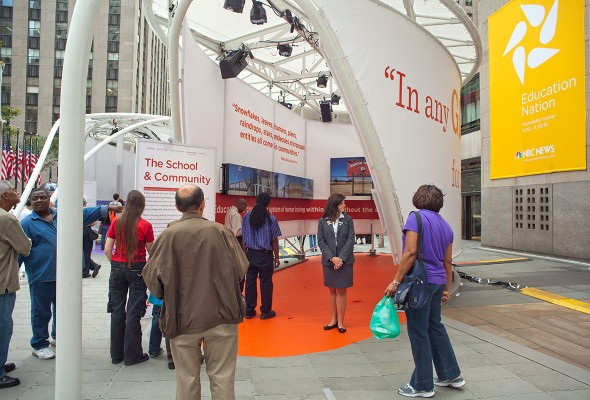NBC Education Nation Pavilion